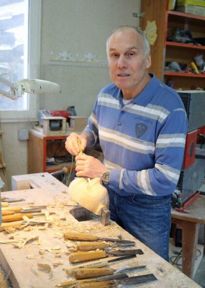 Bildhauer Odermatt Steinen