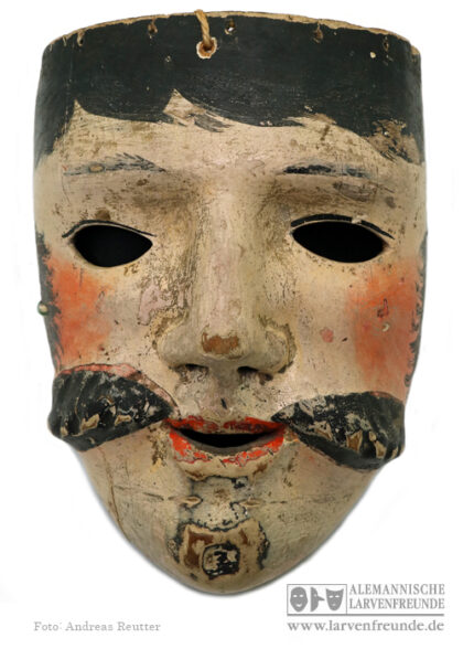 Holzlarve Rhön Maskenmuseum