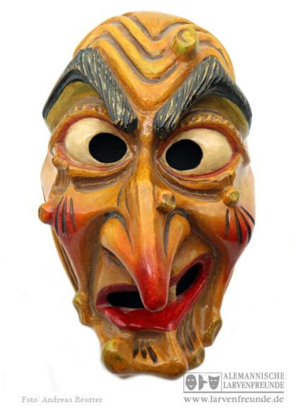 Hexenmaske Maskenmuseum Bräunlingen Hofacker