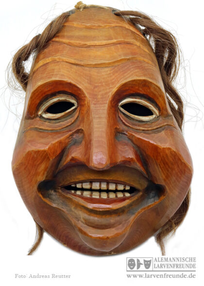 Holzmaske Chrottni Flums Reichlin