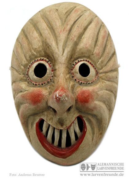Bauernfasching Dengl Malching Holzmaske