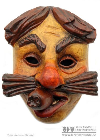 Dorausschreier Saulgau Holzmaske Maskenschnitzer