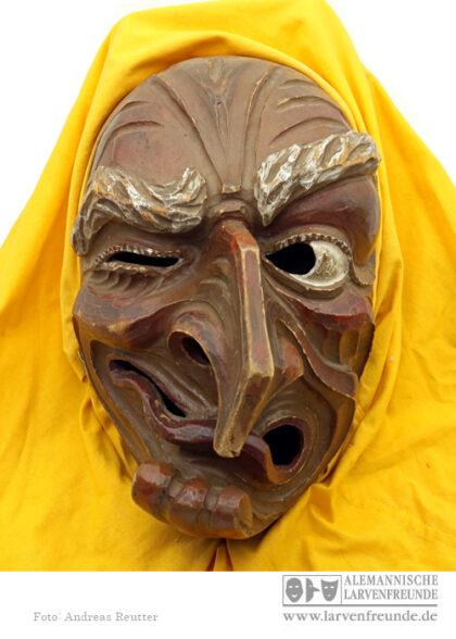 Maskenmuseum Holzmaske Altshausen Hexenmaske