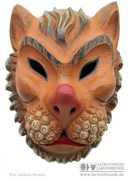 Maskenmuseum Holzmaske Schwarze Katz Eberhardzell
