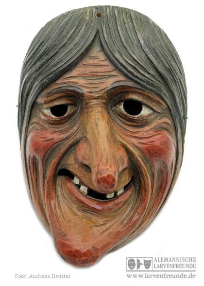 Maskenmuseum Hexenlarve hexenmaske Höger