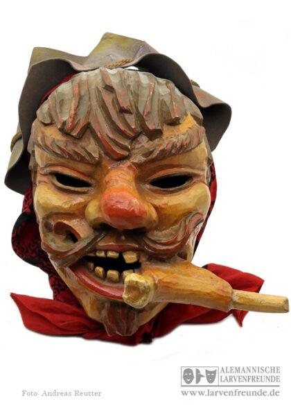Maskenmuseum Holzmaske Dorausschreier Saulgau