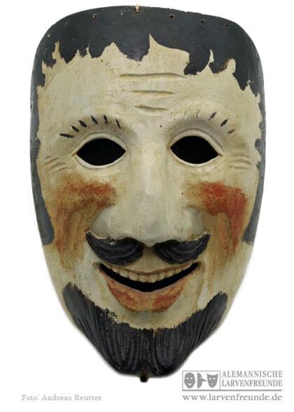 Holzmaske Rhön Weisbach Holzlarve