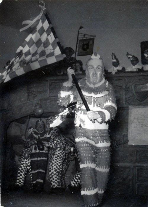 1949 Plätzler Herr Würtenberger bei Veranstaltung im Kameradschaftsheim