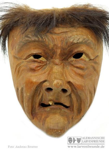 Holzmaske Kriens Charaktermaske Kriens