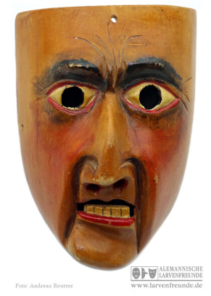 Schreckmaske Holzmaske Kriens Haas Deckel