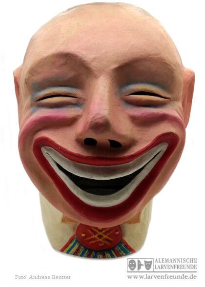 Lachen Grund Mollikopf Schwellkopf Pappmaske Maskenmuseum