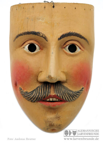 Mils Holzlarve Maskenmuseum