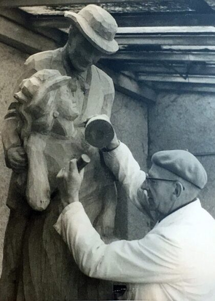 Maskenschnitzer Bildhauer Ruckteschell Kirchzarten