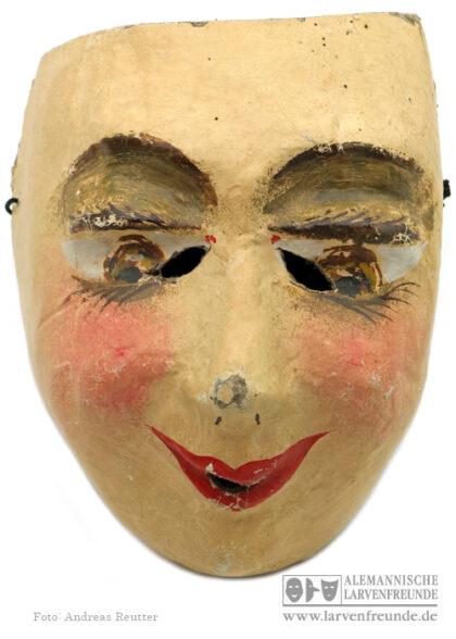 Balllarve Künstlerlarve Basel Pappmaske