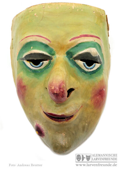 Basel Larve Waggiss Maskenfabrik Pappmaske