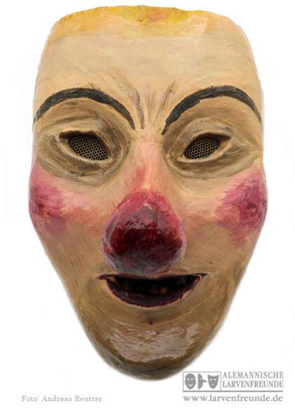 Künstlerlarve Basel Papplarve Waggis Fasnacht Maskenmuseum