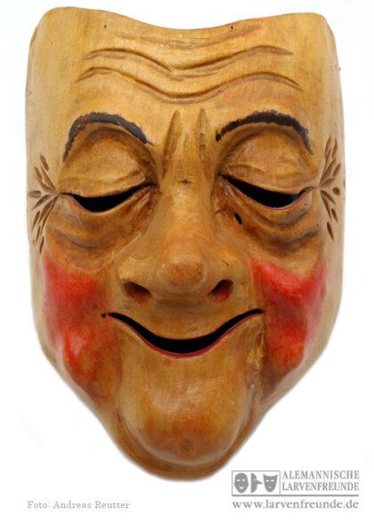 Charaktermaske Kriens Holzmaske Peter
