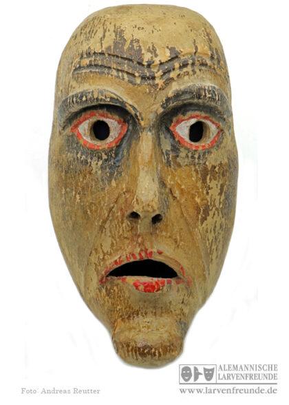 Holzlarve Holzmaske Deckel Kriens Muur-Maske
