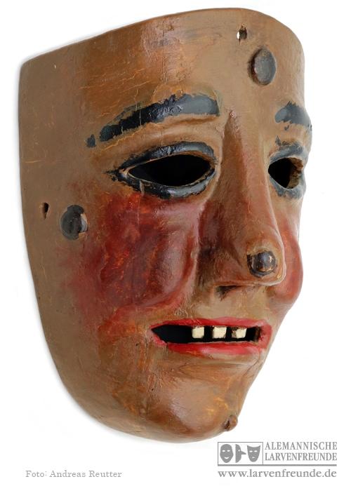 Kriens Maske mit Narrenmal Köchli (2f)