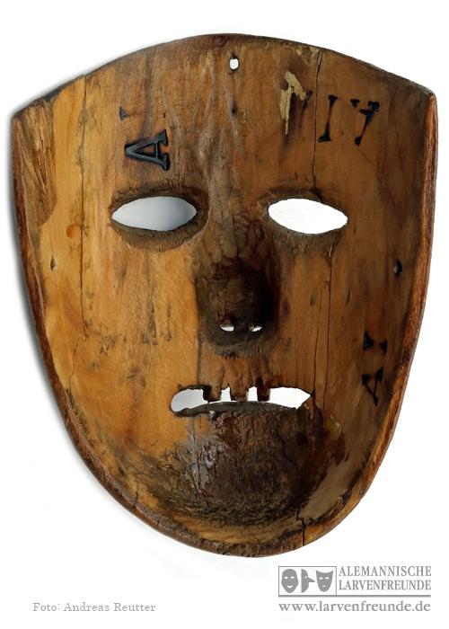 Kriens Maske mit Narrenmal Köchli (4f)