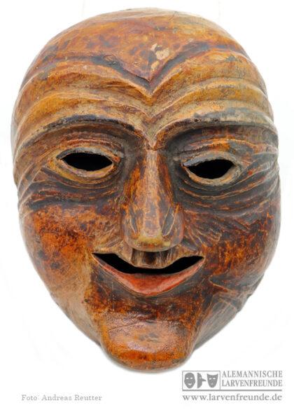 Muur-Maske Kriens Narrengesicht Holzmaske Maskenmuseum