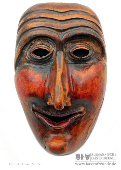 Narrenmaske Kriens Muur-Maske Holzlarve