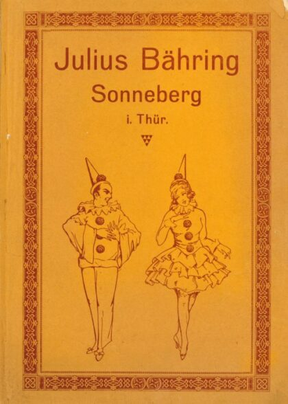 Maskenfabrik Katalog Bähring Sonneberg