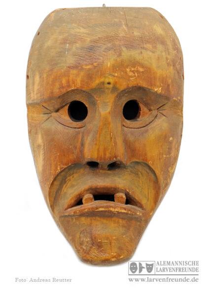 Butzi Flums Stoop Holzlarve Maskenmuseum