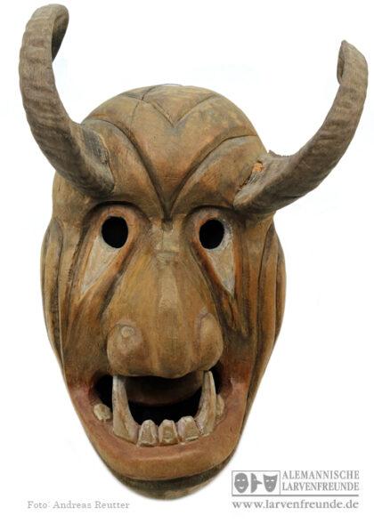 Teufelsmaske Flums Stoop Maskenmuseum