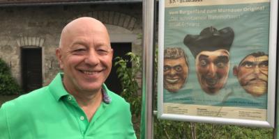 """Sonderausstellung im Staffelseemuseum:   Vom Burgenland zum Murnauer Original: """"Der schnitzende Bahnhofswirt"""" – Josef Schranz"""