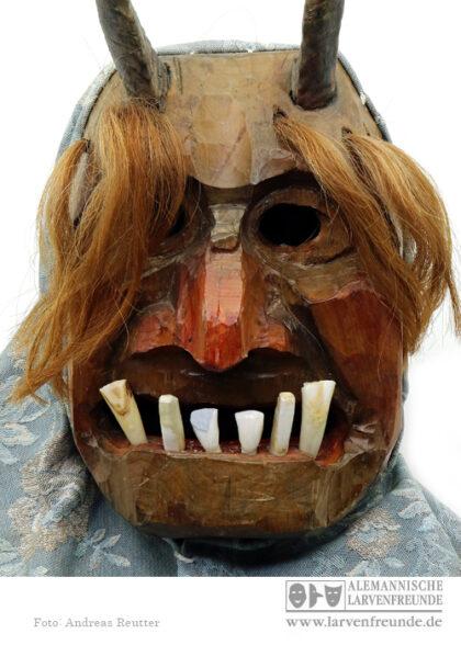 Nidbergtüüfel Teufelsmaske Mels Maskenmuseum
