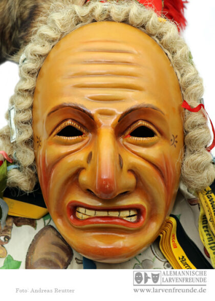 Holzlarve Biss Rottweil Burry Bildhauer Maskenmuseum