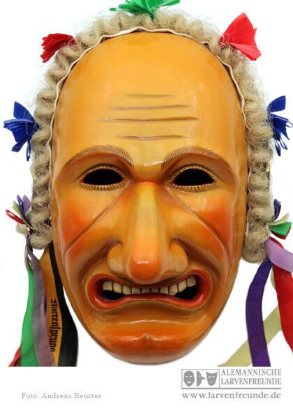 Holzlarve Rottweil Biss Haibt Maskenmuseum