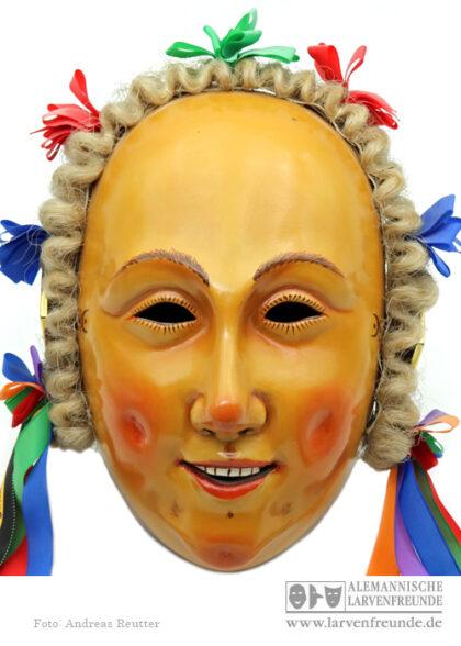 Holzlarve Gschell Maskenmuseum Klaiber-Kasper Rottweil