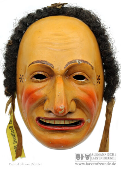 Rottweil Schantle Kopp Holzlarve Maskenmuseum