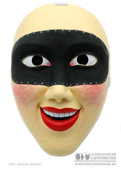 Holzmaske Maskenmuseum Domino Unterägeri