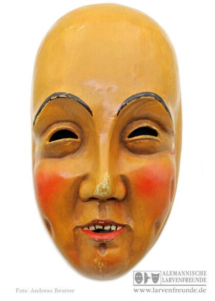 Holzmaske Plätzler Weingarten Maskenmuseum