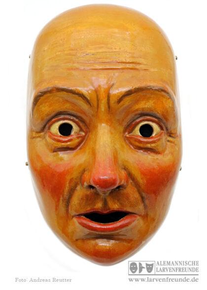 Holzmaske Plätzler Valentini Fasnetsmuseum