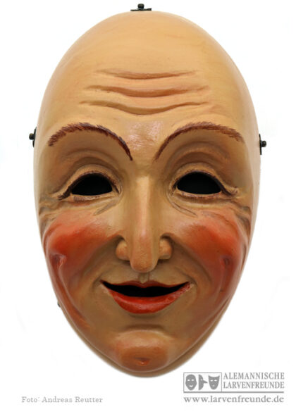 Holzmaske Maskenmuseum Waldweible Weingarten