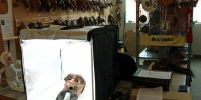 Neu im Virtuellen Maskenmuseum: Wilden-Larven aus dem Telfer Fasnachtsarchiv