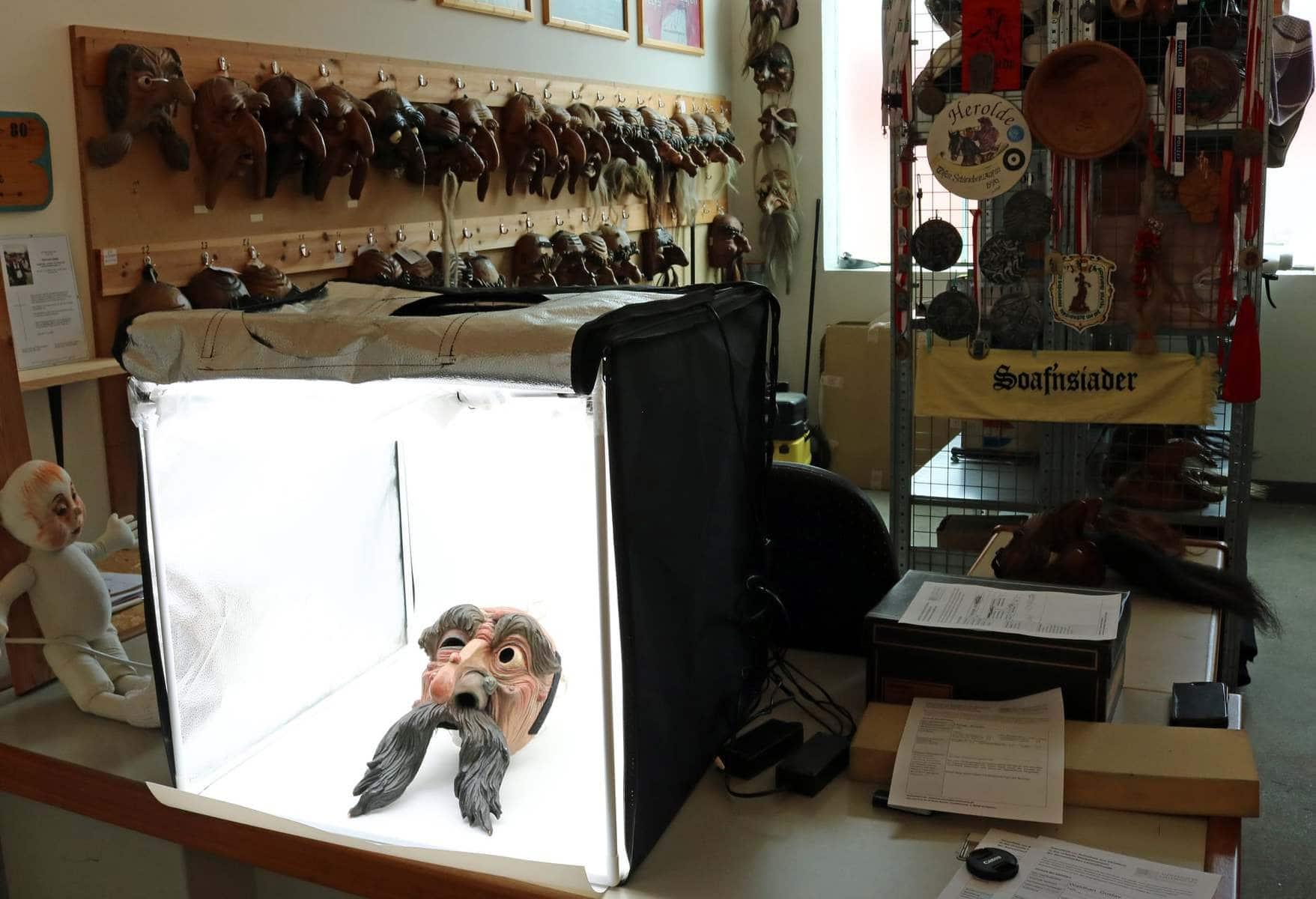 Telfs Fasnachtsarchiv Larvenfreunde Maskenmuseum