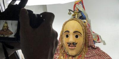 Neu im Virtuellen Maskenmuseum: Fasenickl aus dem Altmühltal