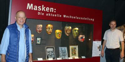 Sonderausstellung im Narrenschopf: 100 Jahre Basler Künstlerlarven