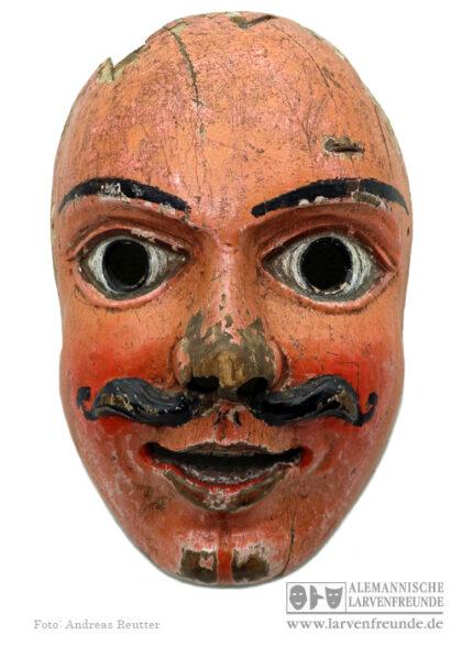 Maskenmuseum Fasenickl Holzmaske Holzlarve Altmühltal