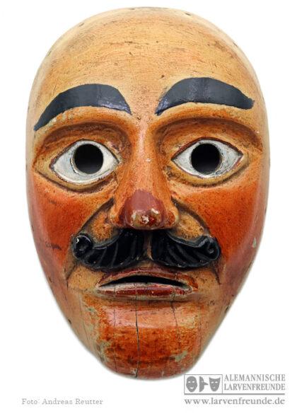 Kipfenberg Holzlarve Maske Fasenickl Altmühltal