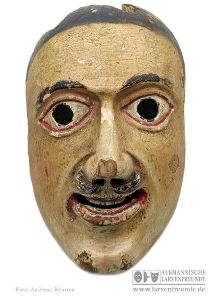 Maskenmuseum Fasenickl Holzmaske Holzlarve