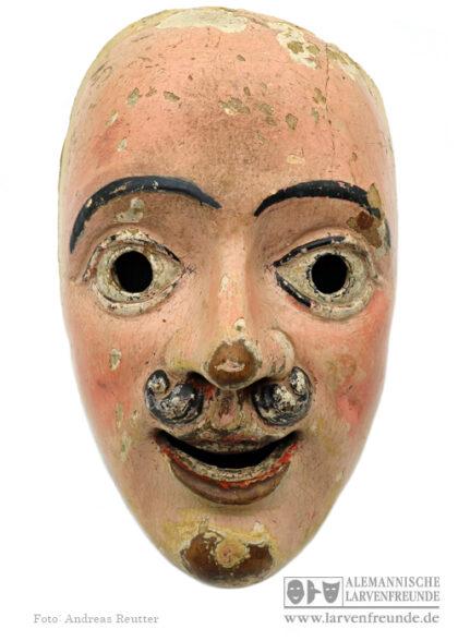 Kipfenberg Fasenickl Larve Maskenmuseum Holzmaske