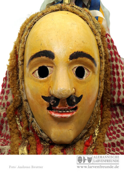 Kipfenberg Fasenickl Holzmaske Holzlarve Maskenmuseum