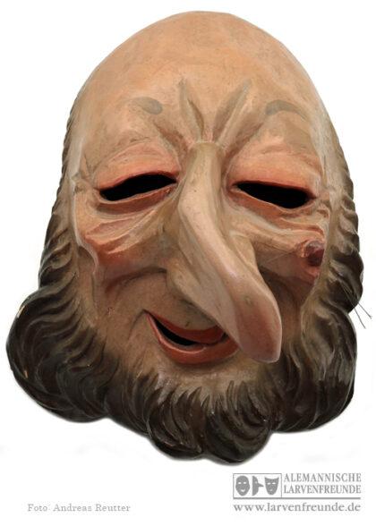 Rottaler Fasching Holzmaske Maskenmuseum Dengl