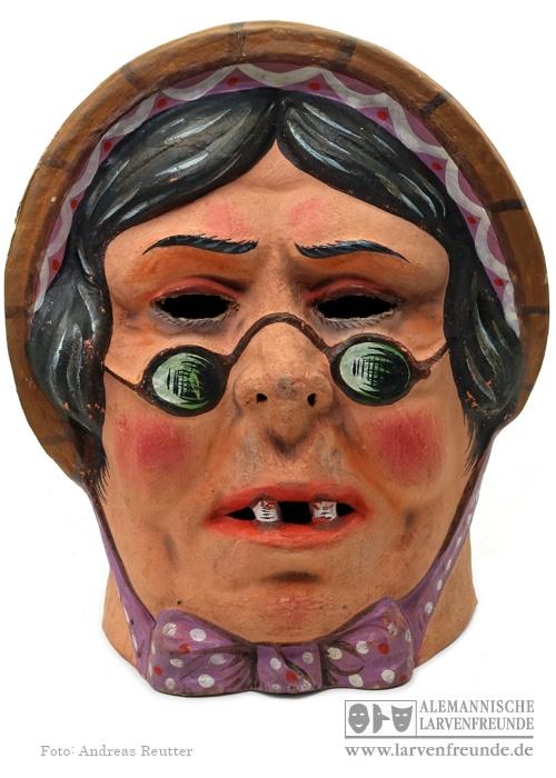 Mollikopf Alte Frau 3 (1f)